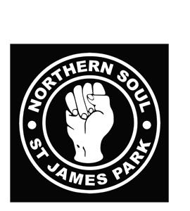 Northern Soul St James Park  (Greetings Card)