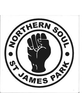 Northern Soul St James Park (Ceramic Coaster)