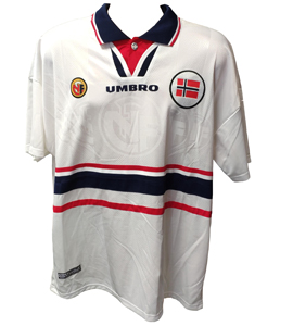 Norway 1998/00 Away World Cup Shirt