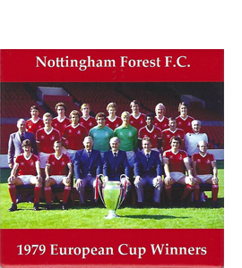 Nottingham Forest 1979 European Cup Winners (Ceramic Coaster)