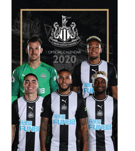Official 2020 Newcastle United Calendar