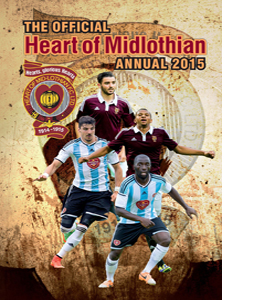 Official Hearts FC 2015 Annual (HB)