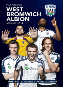 Official West Bromwich Albion FC 2015 Annual (HB)
