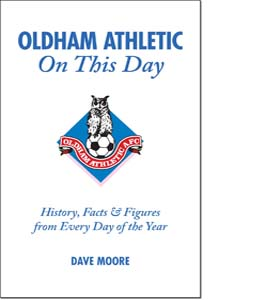 Oldham Athletic On This Day (HB)