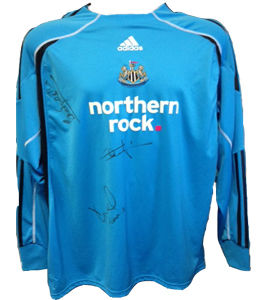 Ole Soderberg Newcastle United Shirt (Match-Worn)