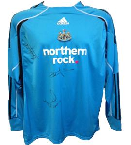 Ole Soderberg Newcastle United Shirt (Match-Worn)
