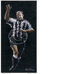 'One Nowt' Newcastle United by Dick Gilhespy (Print)