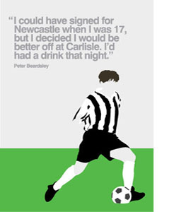 Peter Beardsley (Greeting Card)