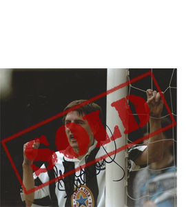 Peter Beardsley Newcastle Photo (Signed)