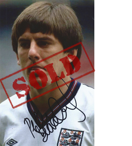 Peter Beardsley England Photo (Signed)
