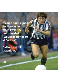 Peter Beardsley Quote (Greetings Card)