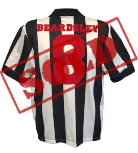 Peter Beardsley Newcastle United 1994/95 Shirt (Signed)