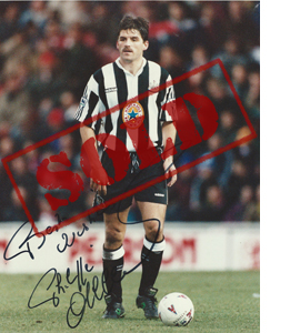 Philippe Albert Newcastle Photo (Signed)