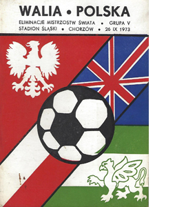 Poland v Wales 1973 World Cup Qualifier (Programme)