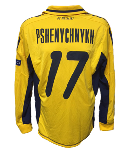 Pshenychnykh Metalist Kharkiv 2012/13 Home Shirt (Match Issue)