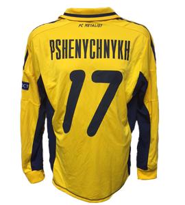Pshenychnykh Metalist Kharkiv 2012/13 Home Shirt (Match Issue)