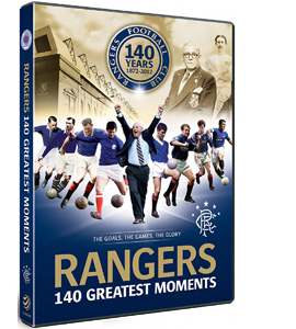 Rangers FC: 140 Greatest Moments - The Games, the Goals... (DVD)