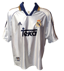 Real Madrid 1998/00 Home Shirt (Champions League Final))