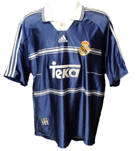 Real Madrid 1998/99 Away Shirt