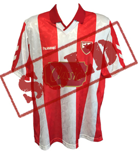 Red Star Belgrade 1991-92 Home Shirt