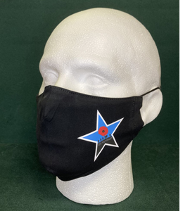 Remembrance Day, Lest We Forget, Newcastle Blue Star (Face Mask)