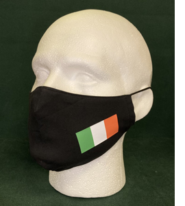 Republic of Ireland Flag, The Tricolour (Face Mask)