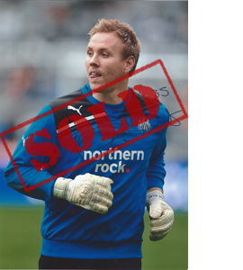 Rob Elliot Newcastle Photo (Signed)