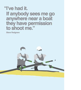 Rowing (Greetings Card)