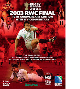 Rugby World Cup Final 2003 - 10th Anniversary Edition Box Set (D
