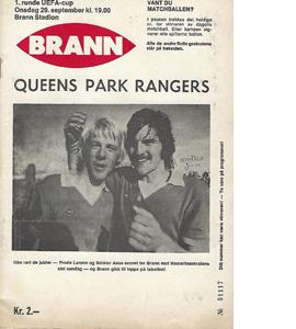 SK Brann v QPR 1976/77 UEFA CUP (Programme)