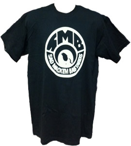 SMB Newcastle United - Black (T-Shirt)
