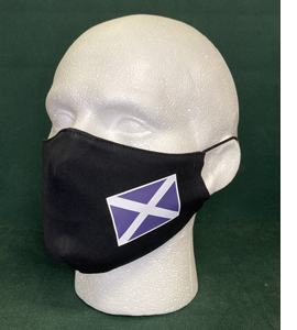 Scotland Flag, St Andrew's Cross, Saltire (Face Mask)