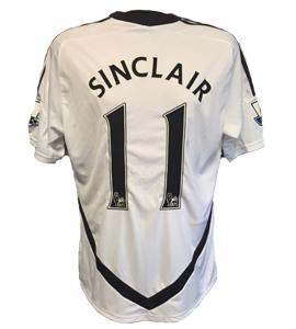 Scott Sinclair Swansea City 2011/12 Home Shirt (Match-Worn)