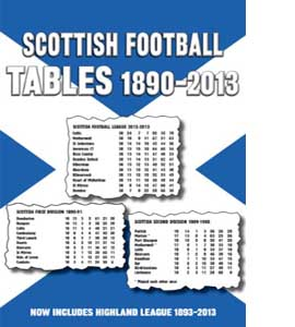 Scottish Football League Tables 1890-2013