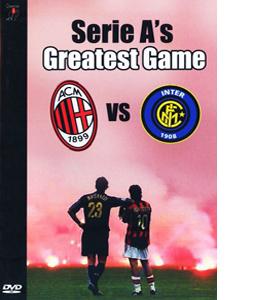 Serie A's Greatest Game 0 A C Milan Vs Inter Milan (DVD)