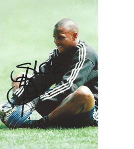 Shaka Hislop Newcastle Photo (Signed)