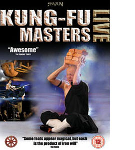 Shaolin Kung Fu Masters - Live (DVD)