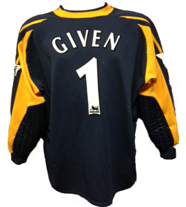 Shay Given Newcastle United Shirt (Match-Worn)