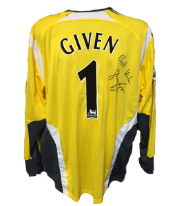 Shay Given Newcastle United Keeper's Shirt 2005/06 (Match-Worn)