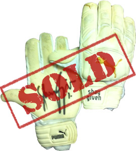 Shay Given's Gloves Newcastle United (Match-Worn)