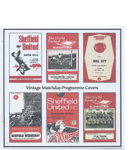 Sheffield United Vintage Programme (Greeting Card)