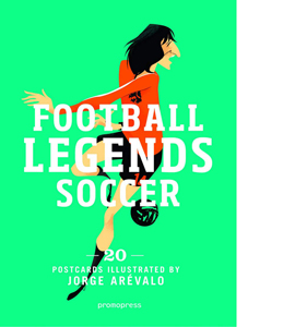Soccer Legends: 20 Postcard Book