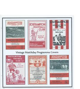 Southampton Vintage Programme (Greeting Card)