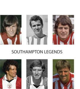 Southampton legends (Greetings Card)