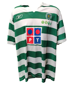 Sporting Club Portugal 2005/06 Centenary Home Shirt