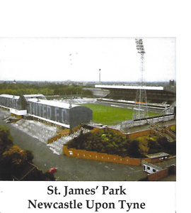 St James Park Circa 1985 Newcastle Upon Tyne (Ceramic Coaster)