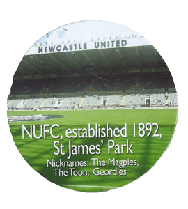 St James' Park Drinks Coaster