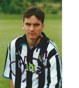 Stephen Glass Newcastle Photo (Signed)