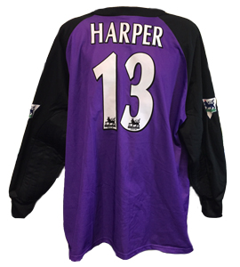 Steve Harper Newcastle United Keeper Shirt 1998/99 (Match-Worn)