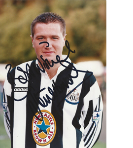 Steve Howey Newcastle Photo (Signed)